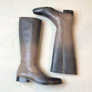 Prada Milano Ombré Riding Boots EUC 36 1/2